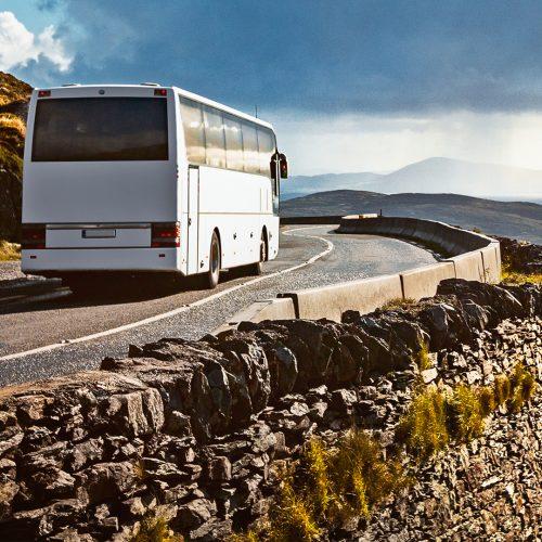Reisen mit dem fernbus ist umweltfreundlich