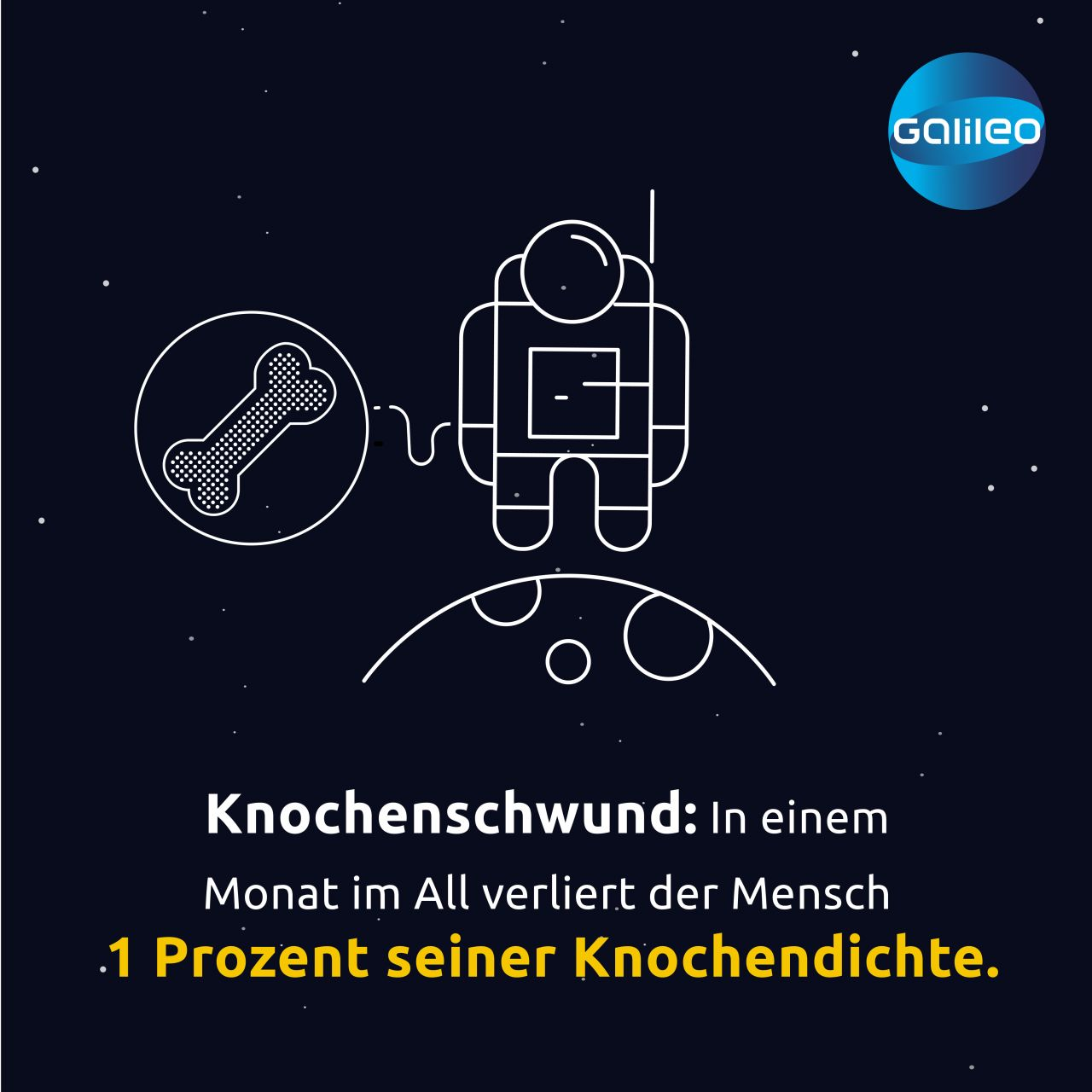 Das macht die Raumfahrt mit dem Körper von Astronauten