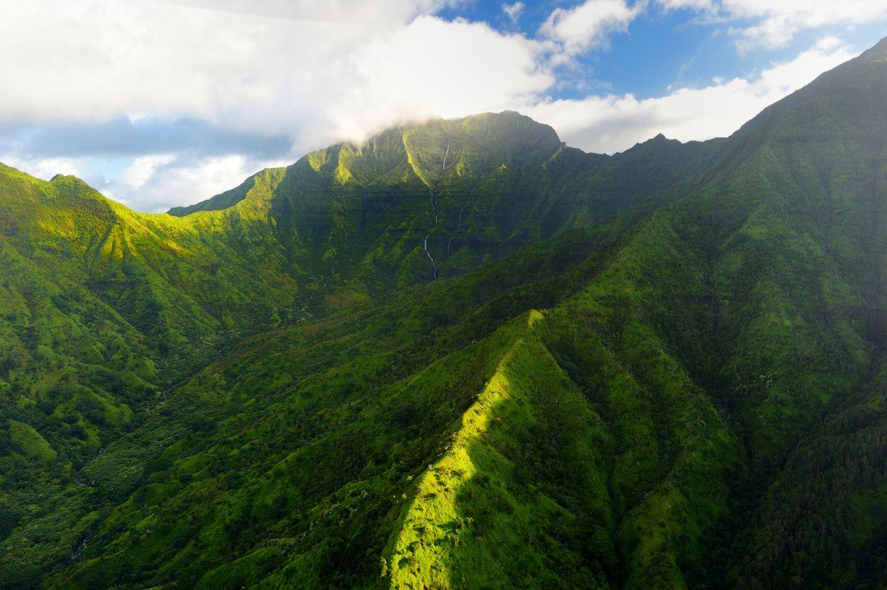 Regen Berg Hawaii