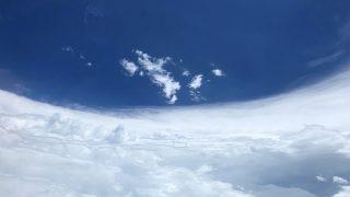 Zentrum eines Hurrikans