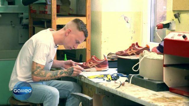 Der erste Sneaker Doc Deutschlands