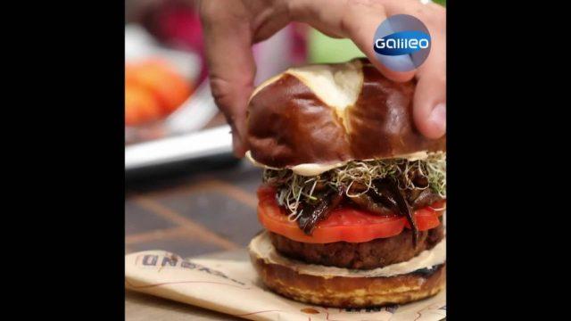 Fleisch ohne Tier: Wie schmeckt der Pflanzen-Burger?