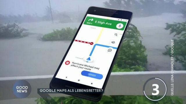Google Maps als Lebensretter?