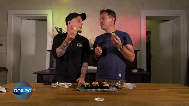 Harro gegen Bernd im Küchenduell: Wer macht den bessere herzhaften Muffin?
