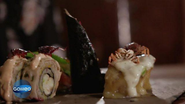 Invasiv aber lecker: Sushi aus Schädlingen