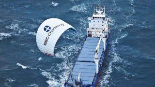 BBC SkySails Drache Windanlage