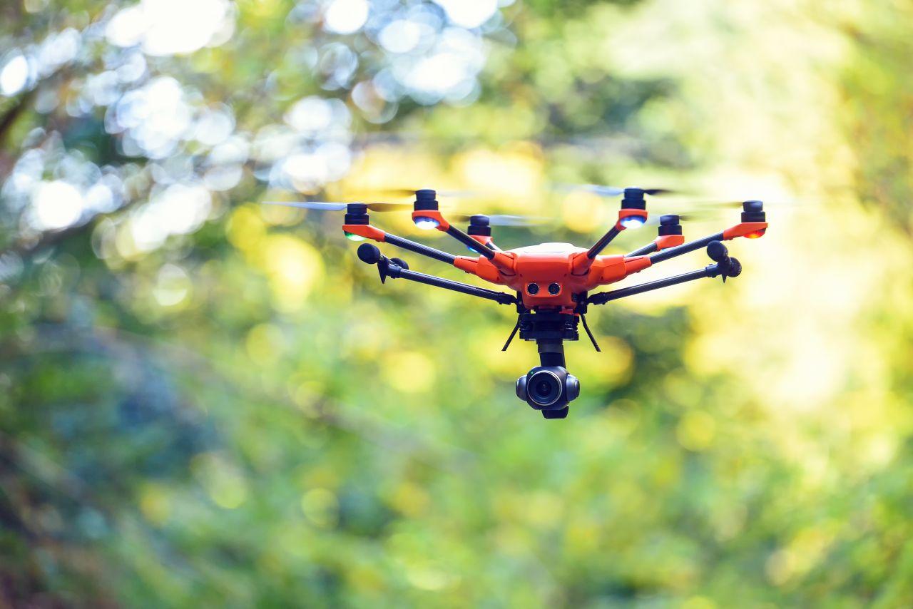 Drohne mit 6 Propeller