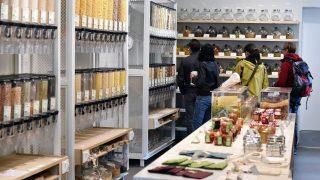 Verpackungsfreier Supermarkt