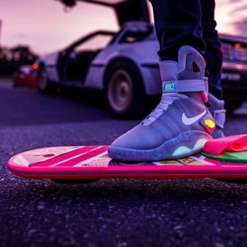Zurück in die Zukunft: Nike präsentiert selbstbindenden