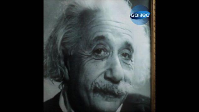 Ausnahmewissenschaftler Albert Einstein