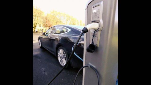 Elektroautos in Norwegen - 10s