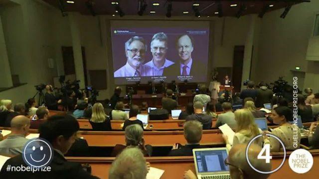 Good News: Nobelpreisträger und Nicht-Nobelpreisträger