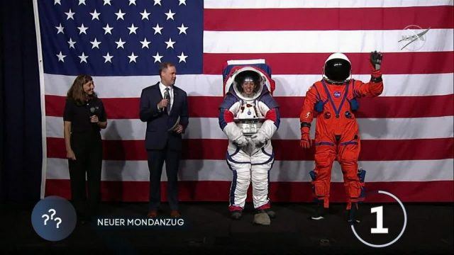 Nasa stellt neuen Mond-Anzug vor