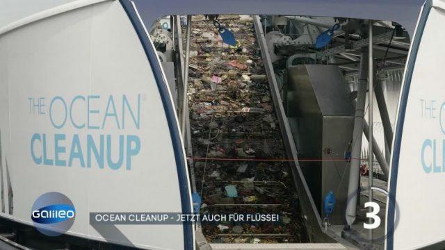 Ocean Cleanup gibt's jetzt auch für Flüsse