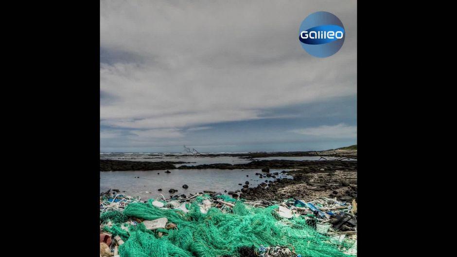 Plastikmüll im Ozean