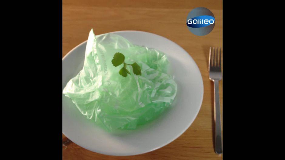 Was ist dran an der essbaren Plastiktüte?