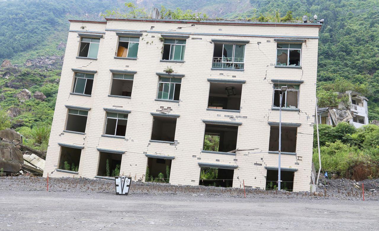 Hier ging alles schief: Die schräge Stadt Beichuan