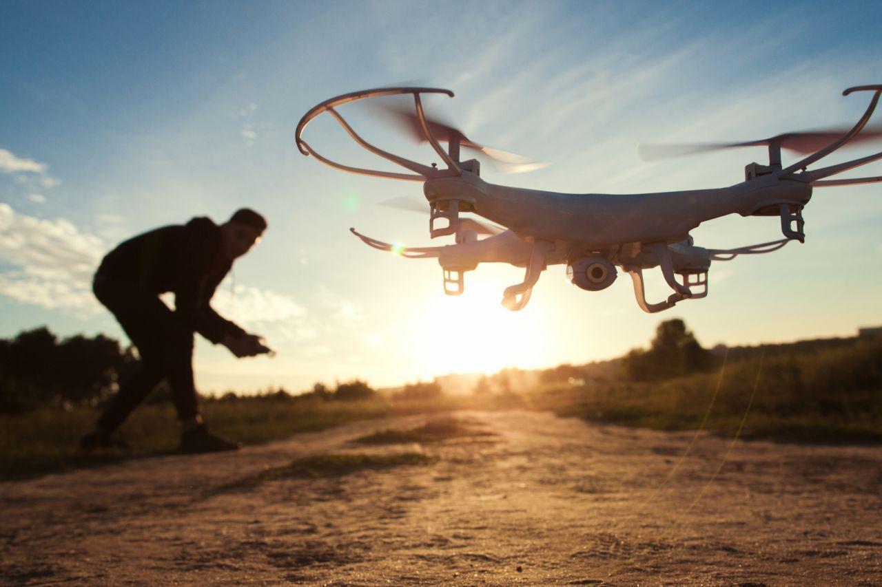 Drohnen mit drei Propellern