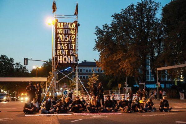 Extinction Rebellion Proteste gibt es auch in Deutschland. Zum Beispiel in Dortmund.