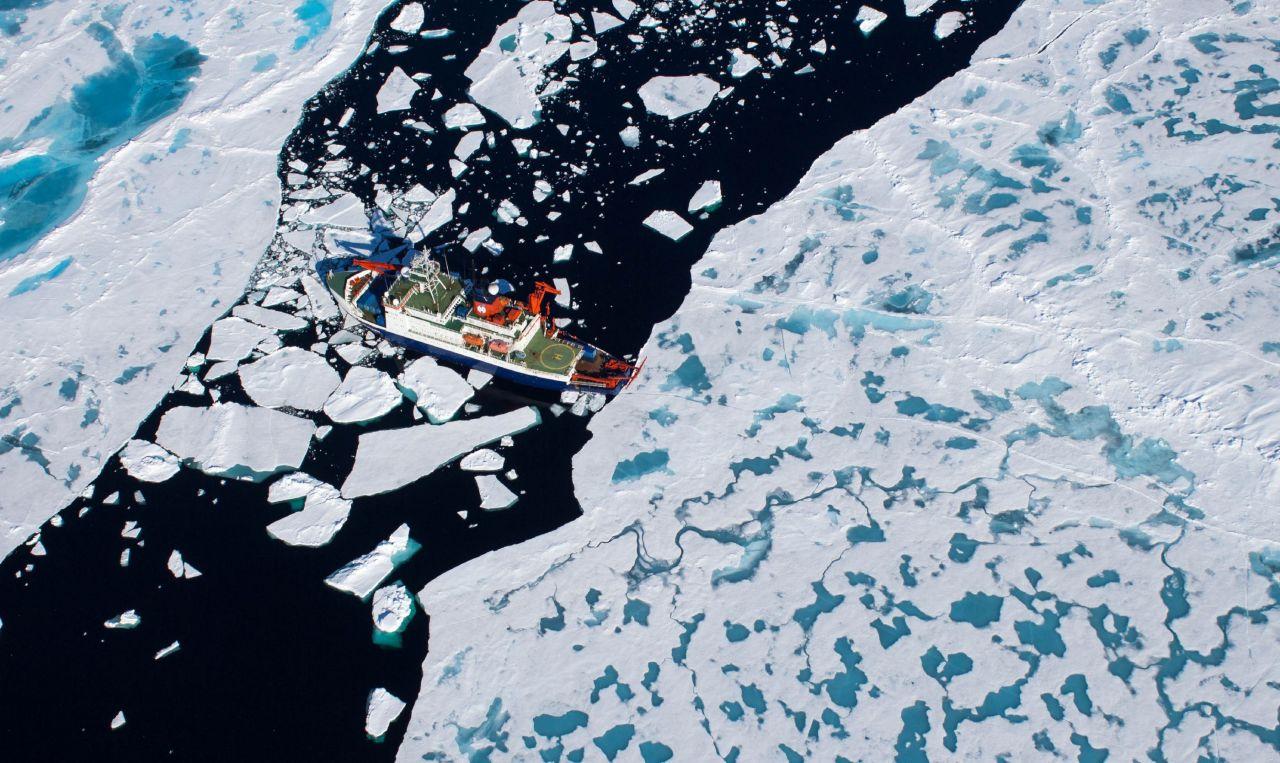Polarstern in der Arktis