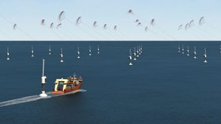 SkySails Offshore-Höhenwindkraftanlage