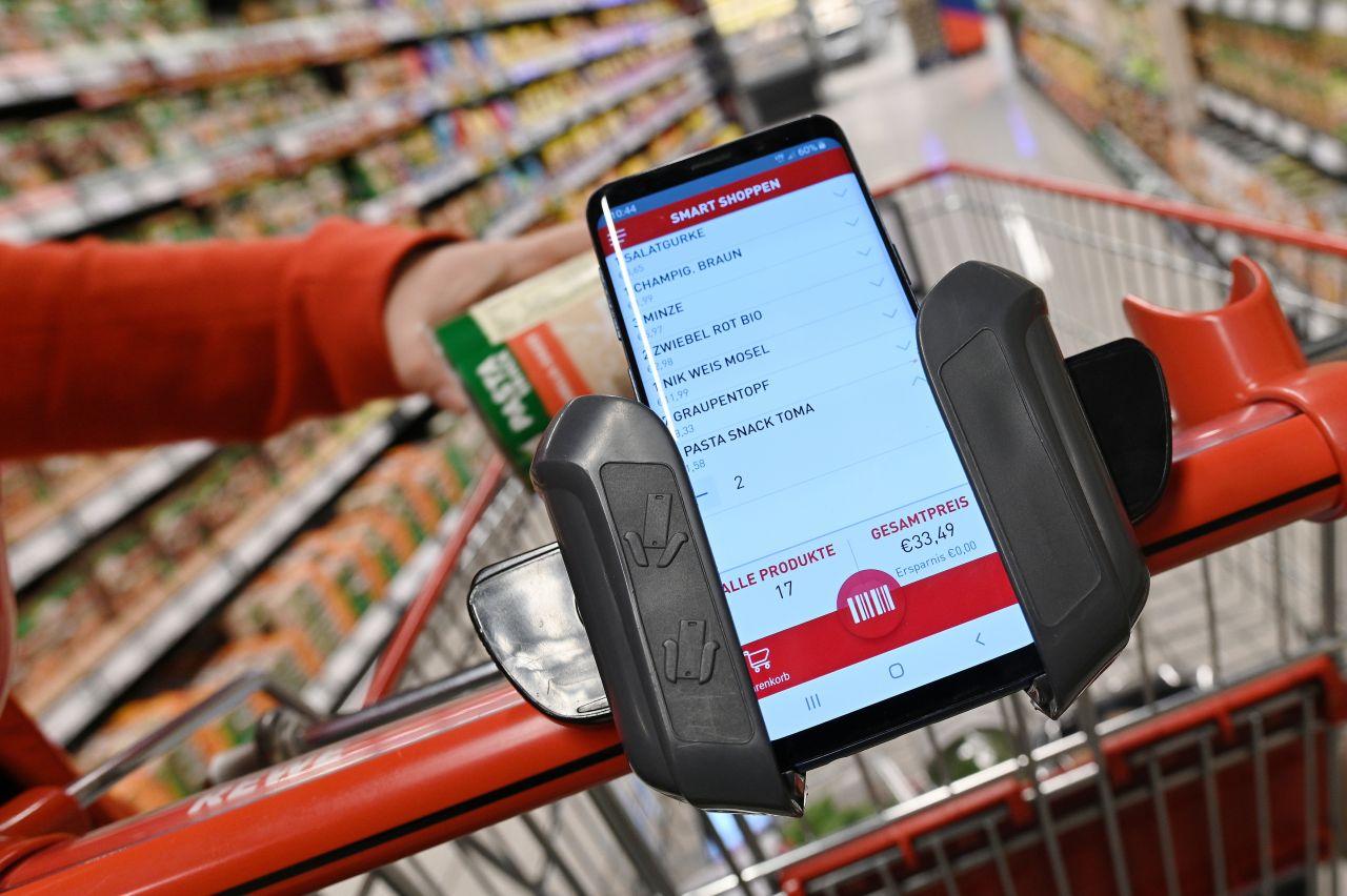 Smarter Einkaufshelfer auf dem Smartphone
