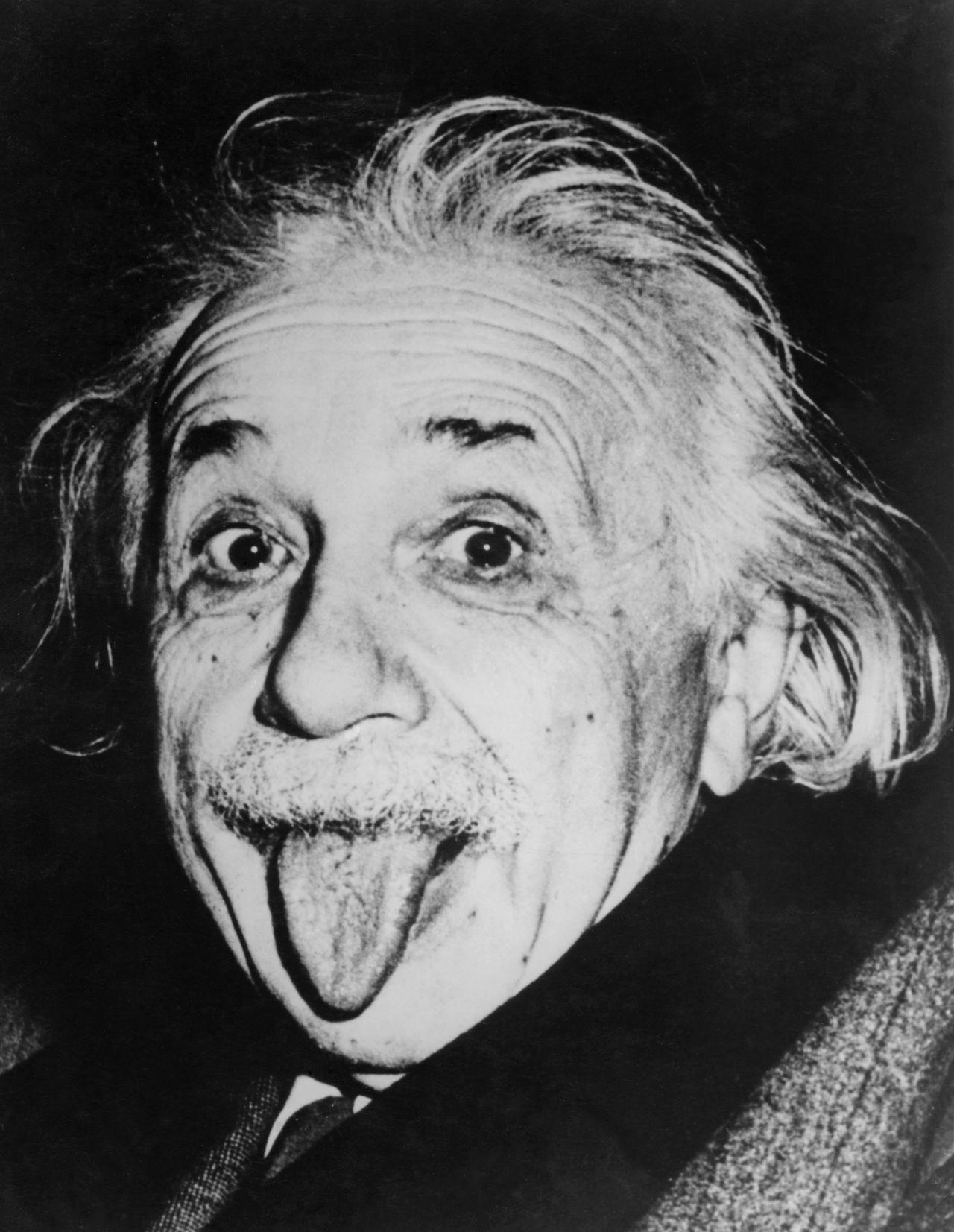 Kult-Portrait von Albert Einstein