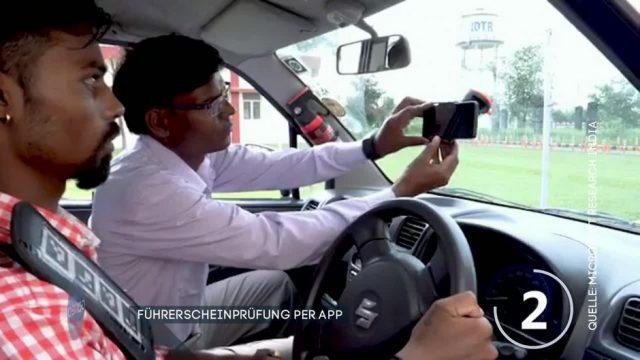 Führerscheinprüfung per App - ist das möglich?