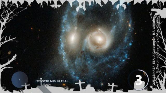 Horror aus dem All: So gruselig sieht es im Weltraum aus