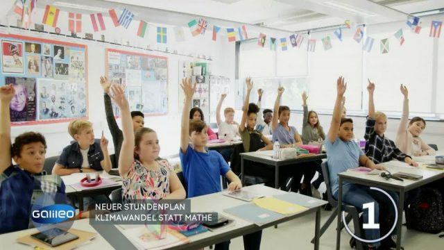 Klimawandel als Unterrichtsfach: Italien macht's vor!