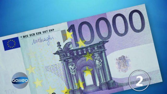 Kommt bald der 10.000 Euro-Schein?