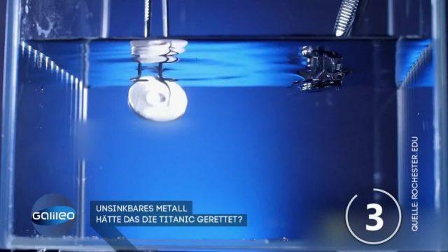 Unsinkbares Metall: Hätte das die Titanic gerettet?
