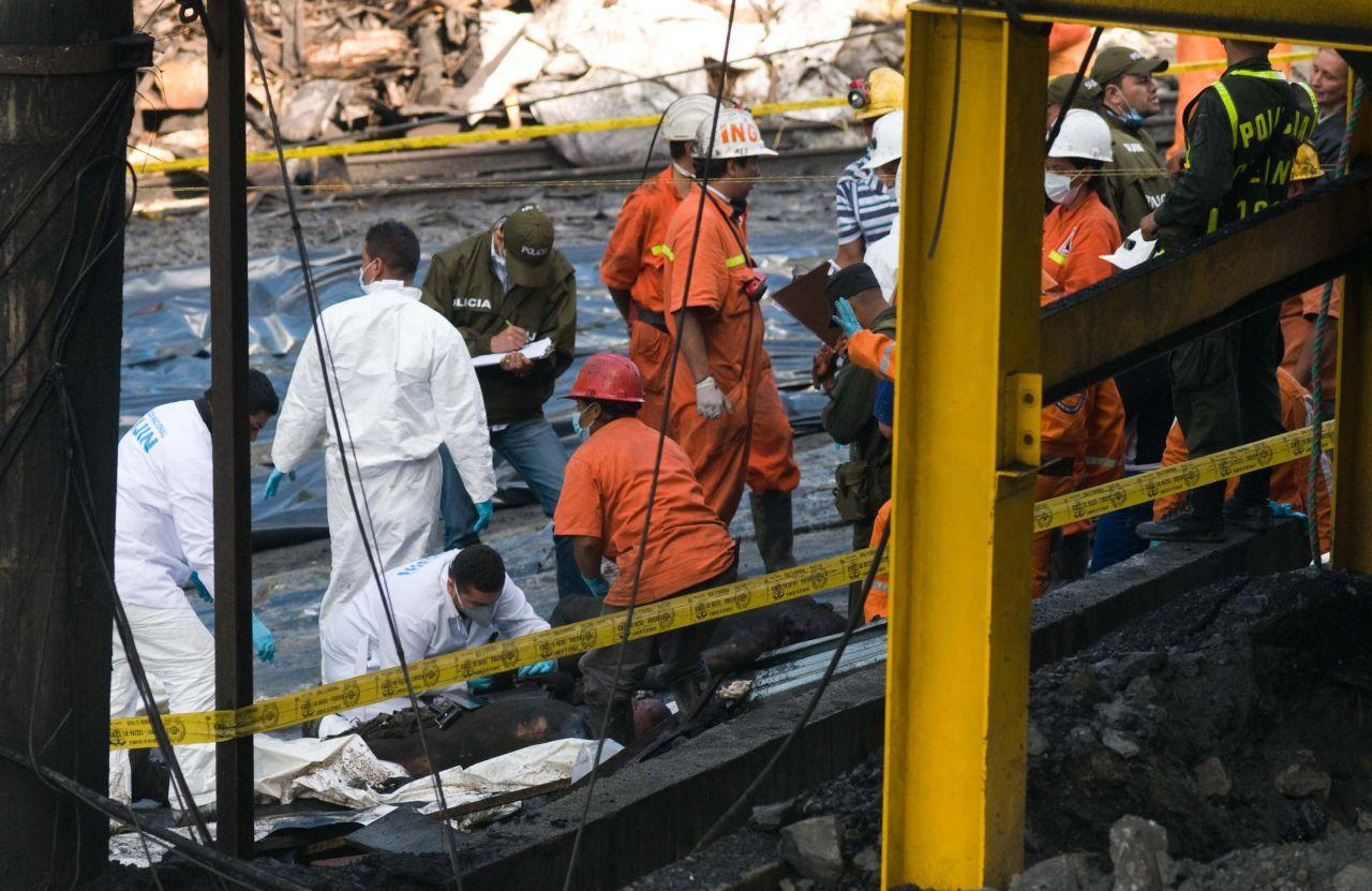Bergbau: Grubenunglück in Kolumbien