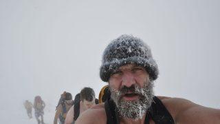 Wim Hof in der Kälte