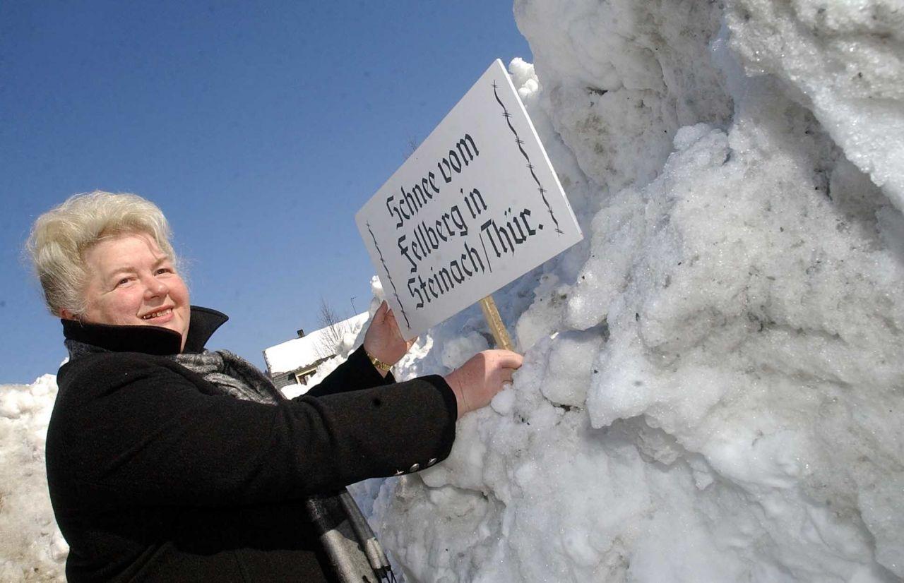 Stadt versteigert bei Ebay Schnee