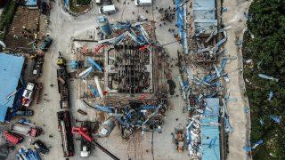 Gasexplosion in einem Bergwerk in China