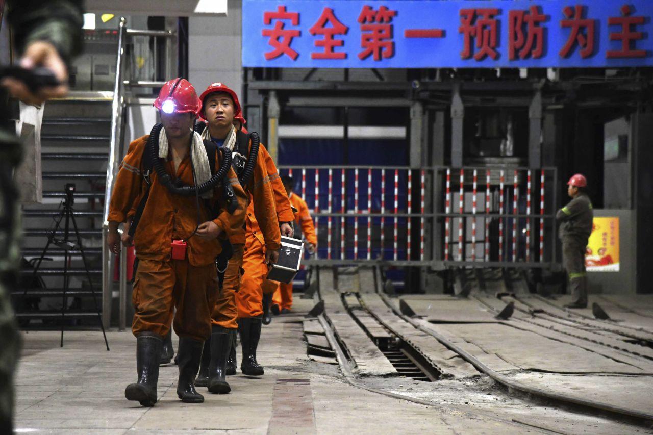 Grubenunglück in China