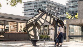 Forschungspavillon der Universität Stuttgart