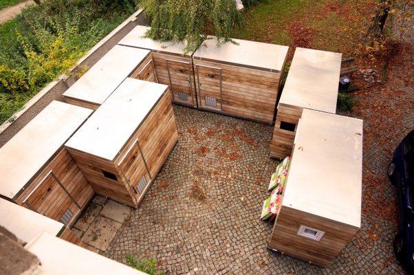 8 My Molo-Hütten im Hof