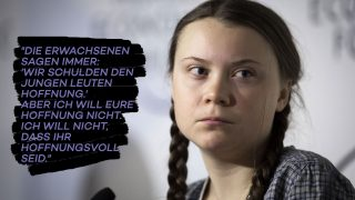 Greta Thunberg Porträt