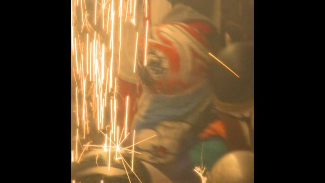 Das härteste Feuerwerk der Welt - 10s