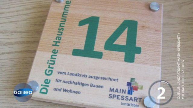 Deutschland streitet über grüne Hausnummern