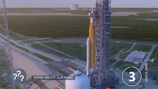 Flug zum Mond: Amerikaner stellen Super-Rakete vor