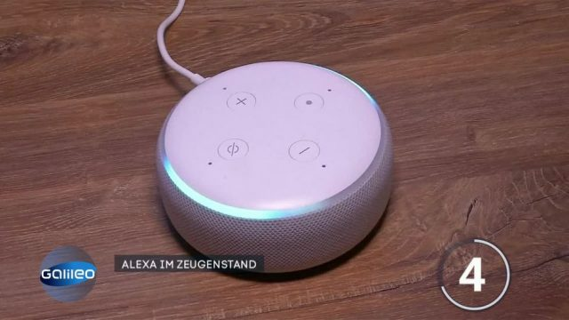 Fragen des Tages: Kann Alexa Verbrecher überführen?