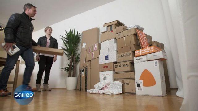 Galileo-Experiment: Wie können Versandhändler Verpackungsmüll sparen?
