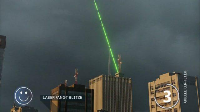 Kann dieser Laser wirklich Blitze abfangen?