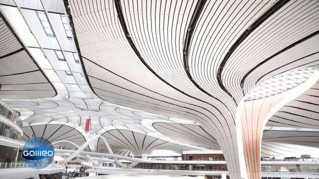 Modernster Flughafen der Welt in Peking: Wie innovativ ist der Airport?