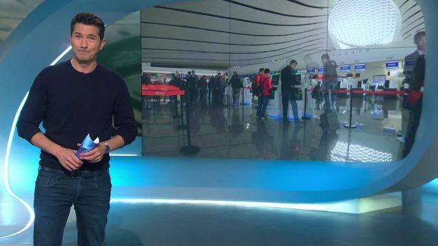 Montag: Der modernste Flughafen der Welt