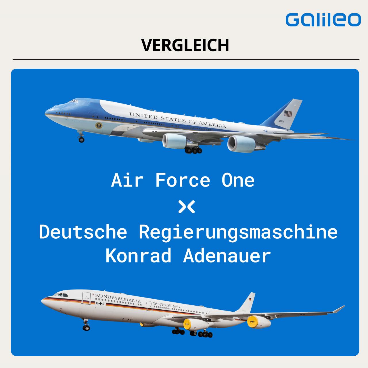 Air Force One vs. Konrad Adenauer