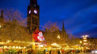 Manchester Weihnachtsmarkt